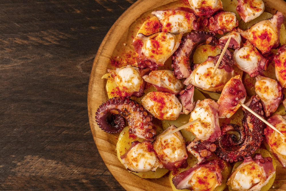 Octopus with gallega